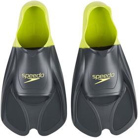 speedo Biofuse Training Fins Unisex oxid grey/lime punch